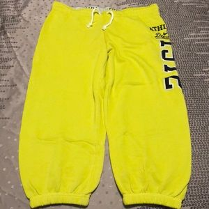Nike The Athletic Dept Women's Yellow Crop Jogger